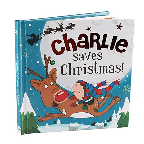 Charlie Saves Christmas - H&H Personalised Christmas Storybook By H&H