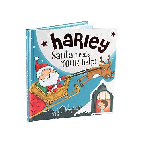 Harley Santa Needs Your Help - H&H Personalised Christmas Storybook By H&H