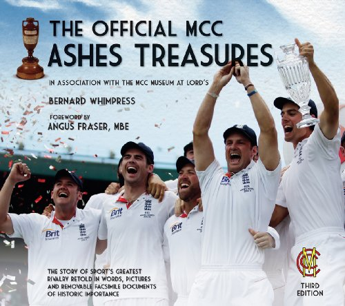 The Official MCC Ashes Treasures By Bernard Whimpress