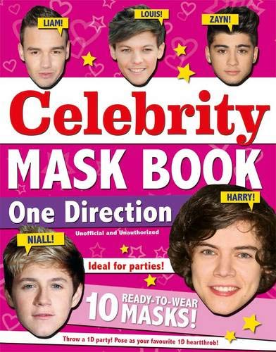 One Direction Mask Book By Carlton Books