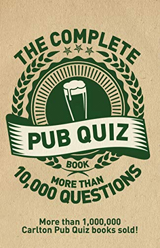 The Complete Pub Quiz Book By Roy Preston