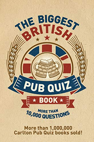 The Biggest British Pub Quiz Book by Roy Preston