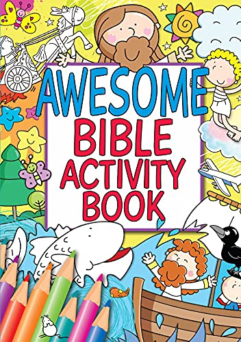 Awesome Bible Activity Book By Juliet David