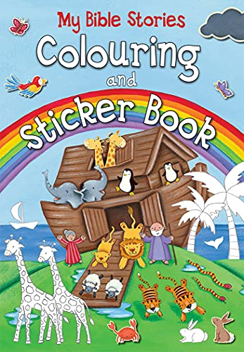 My Bible Stories Colouring and Sticker Book By Juliet David