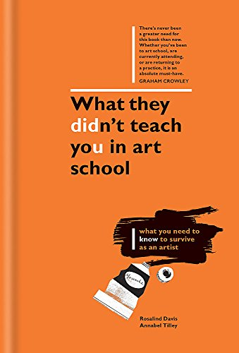 What They Didn't Teach You in Art School: What you need to know to survive as an artist (What They Didn't Teach You In School) By Rosalind Davis