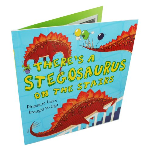 Theres A Stegasaurus On Stairs