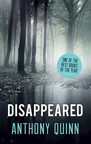 Disappeared By Anthony J. Quinn