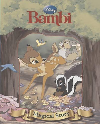 Disney's Bambi Magical Story with Lenticular Front Cover (Disney Magical Story) By Parragon Books Ltd
