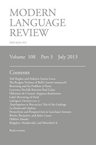Mlr July 2013 By Brian Richardson (University of Leeds UK)