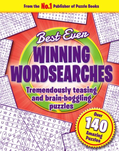 Trivia - Winning Word Searches - (3rd edition) - (Best Ever 160 PB - Igloo Books Ltd)