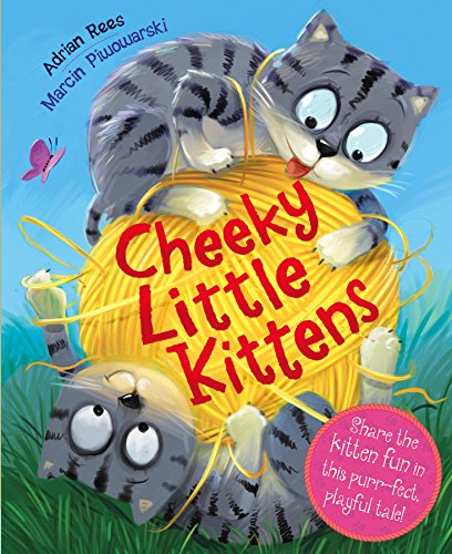 Picture Book: Cheeky Little Kitten (Picture Flats Portrait) By Igloo Books Ltd