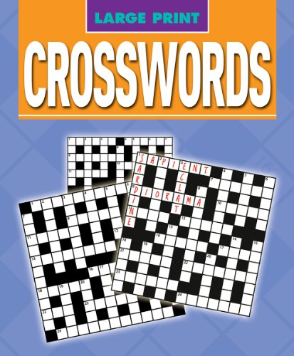 Large Print Crosswords by