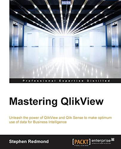 Mastering QlikView By Stephen Redmond