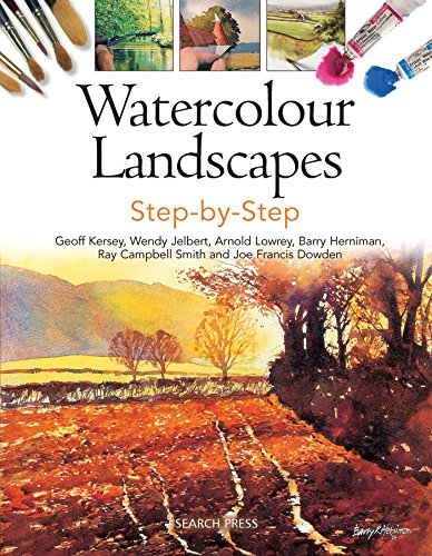 Watercolour Landscapes Step-by-Step By Geoff Kersey