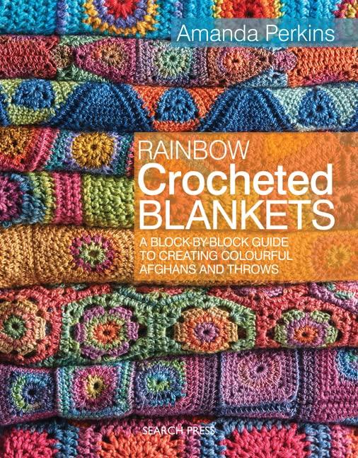 Rainbow Crocheted Blankets By Amanda Perkins