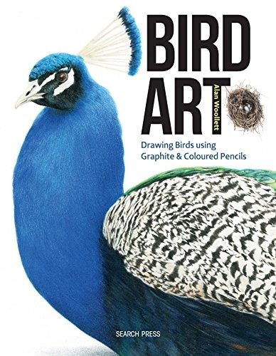 Bird Art: Drawing Birds using Graphite & Coloured Pencils By Alan Woollett
