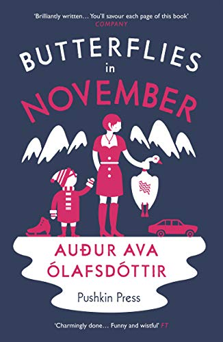 Butterflies in November by Audur Ava Olafsdottir