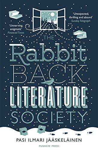 The Rabbit Back Literature Society By Pasi Ilmari Jaaskelainen
