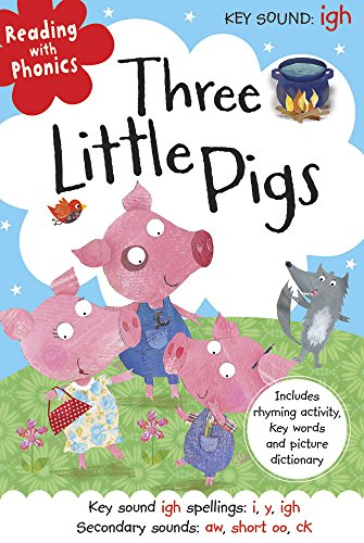 Three Little Pigs (Reading with Phonics) (Touch and Feel Tales) By Hayley Down
