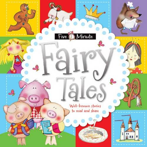 Five Minute Fairy Tales (Five Minute Padded Tales) Illustrated by Sarah Baker