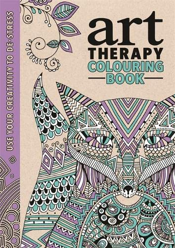 The Art Therapy Colouring Book by Richard Merritt