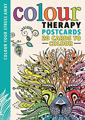Colour Therapy Postcards By Illustrated by Sam Loman