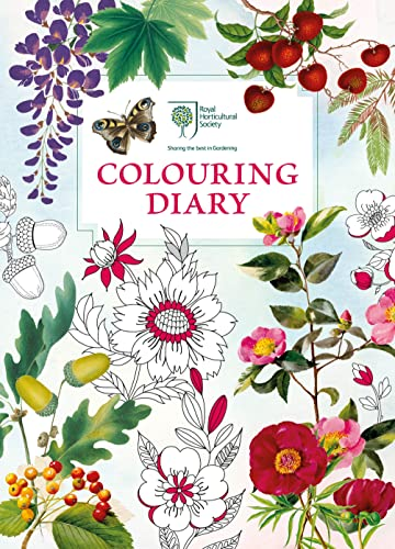 RHS Colouring Diary By RHS Enterprises Limited
