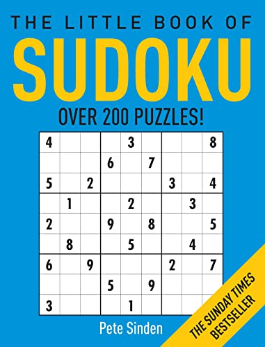 The Little Book of Sudoku: 1 By Pete Sinden