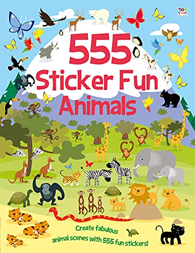 555 Sticker Fun Animals by Susan Mayes