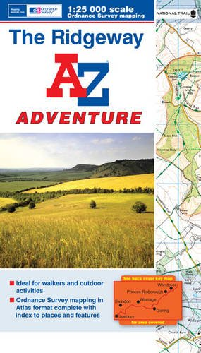 The Ridgeway Adventure Atlas (A-Z Adventure Atlas) By Geographers' A-Z Map Company