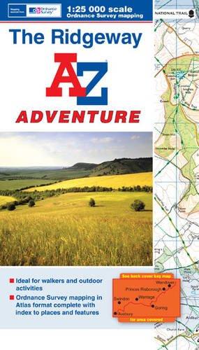 The Ridgeway Adventure Atlas by Geographers' A-Z Map Company