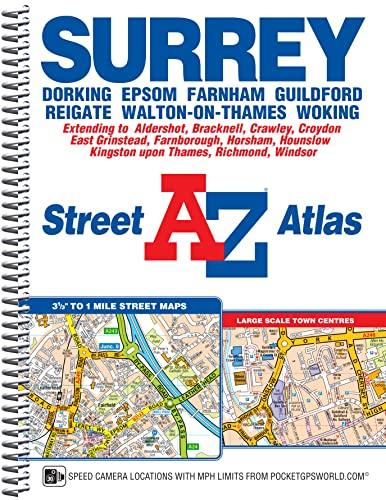 Surrey Street Atlas By Geographers' A-Z Map Company