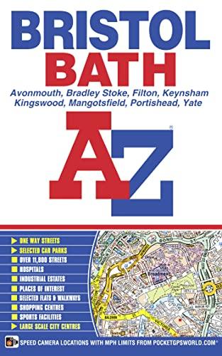 Bristol & Bath Street Atlas By A-Z maps