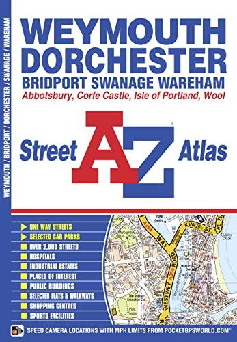 Weymouth & Dorchester A-Z Street Atlas By A-Z maps