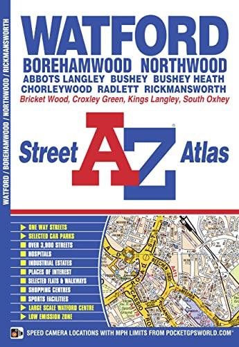 Watford Street Atlas By A-Z maps