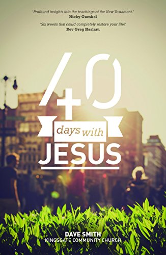 40 Days with Jesus By Various