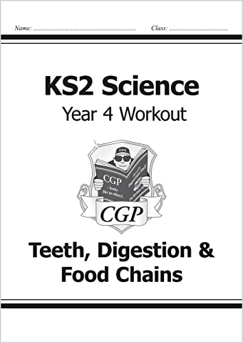 KS2 Science Year Four Workout: Teeth, Digestion & Food Chains von CGP Books