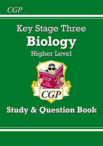 KS3 Biology Study & Question Book - Higher By CGP Books