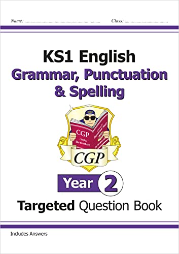 KS1 English Targeted Question Book: Grammar, Punctuation & Spelling - Year 2 von CGP Books