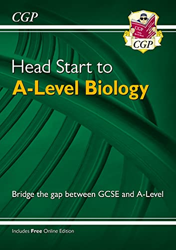 New Head Start to A-level Biology (CGP A-Level Biology) By CGP Books