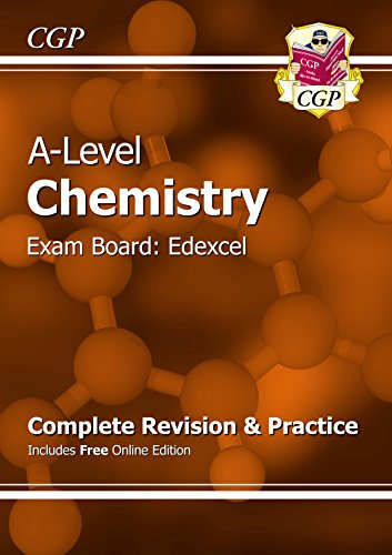 New A-Level Chemistry: Edexcel Year 1 & 2 Complete Revision & Practice with Online Edition: Exam Board Edexcel by CGP Books