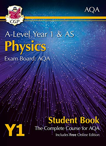 A-Level Physics for AQA: Year 1 & AS Student Book with Online Edition By CGP Books