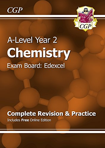 New A-Level Chemistry: Edexcel Year 2 Complete Revision & Practice with Online Edition: Exam Board: Edexcel by CGP Books