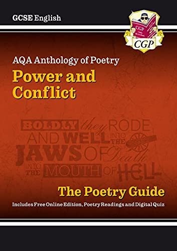 New GCSE English Literature AQA Poetry Guide: Power & Conflict Anthology - For the Grade 9-1 Course by CGP Books