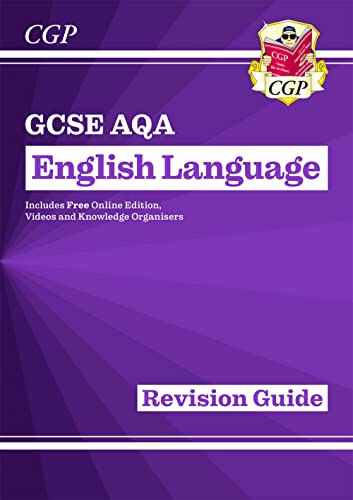 GCSE English Language AQA Revision Guide - for the Grade 9-1 Course By CGP Books