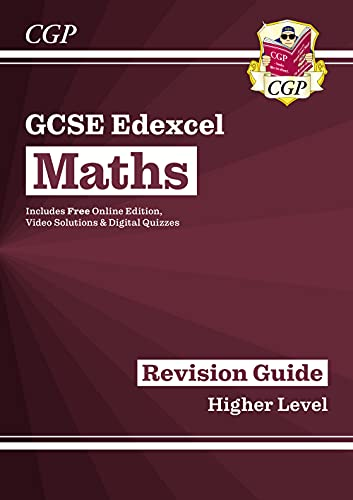 GCSE Maths Edexcel Revision Guide: Higher - for the Grade 9-1 Course (with Online Edition) By CGP Books