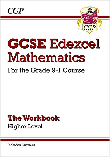 GCSE Maths Edexcel Workbook: Higher - for the Grade 9-1 Course (includes Answers) by CGP Books