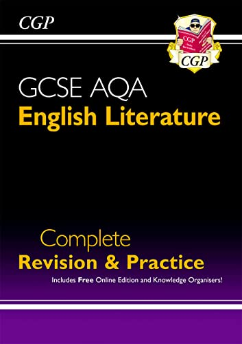 New GCSE English Literature AQA Complete Revision & Practice - For the Grade 9-1 Course by CGP Books