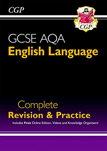 GCSE English Language AQA Complete Revision & Practice - Grade 9-1 Course (with Online Edition) (CGP GCSE English 9-1 Revision) By CGP Books