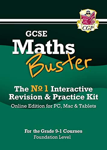 MathsBuster: GCSE Maths Interactive Revision (Grade 9-1 Course) Foundation - Online Edition By CGP Books